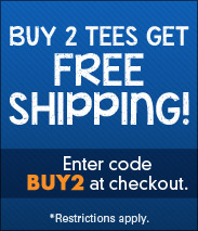 Buy 2 Tees Get Free Shipping