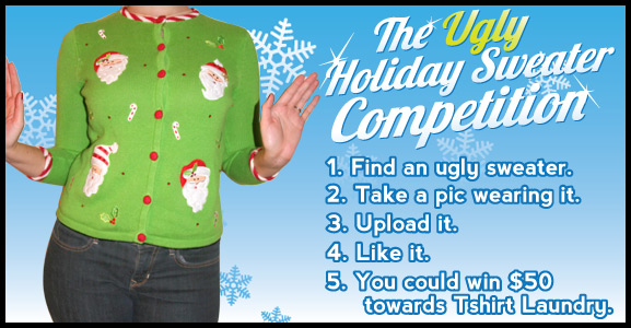The Ugly Holiday Sweater Competition