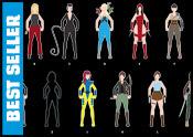 A to Z Super Women