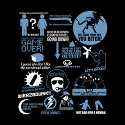 SALE!! Aliens Quotes