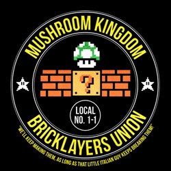 Mushroom Kingdom Bricklayers Union