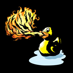 Fire Breathing Rubber Ducky