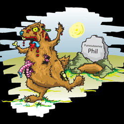 Groundhog Day of the Dead