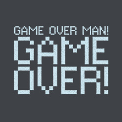 Game Over Man Hoodie