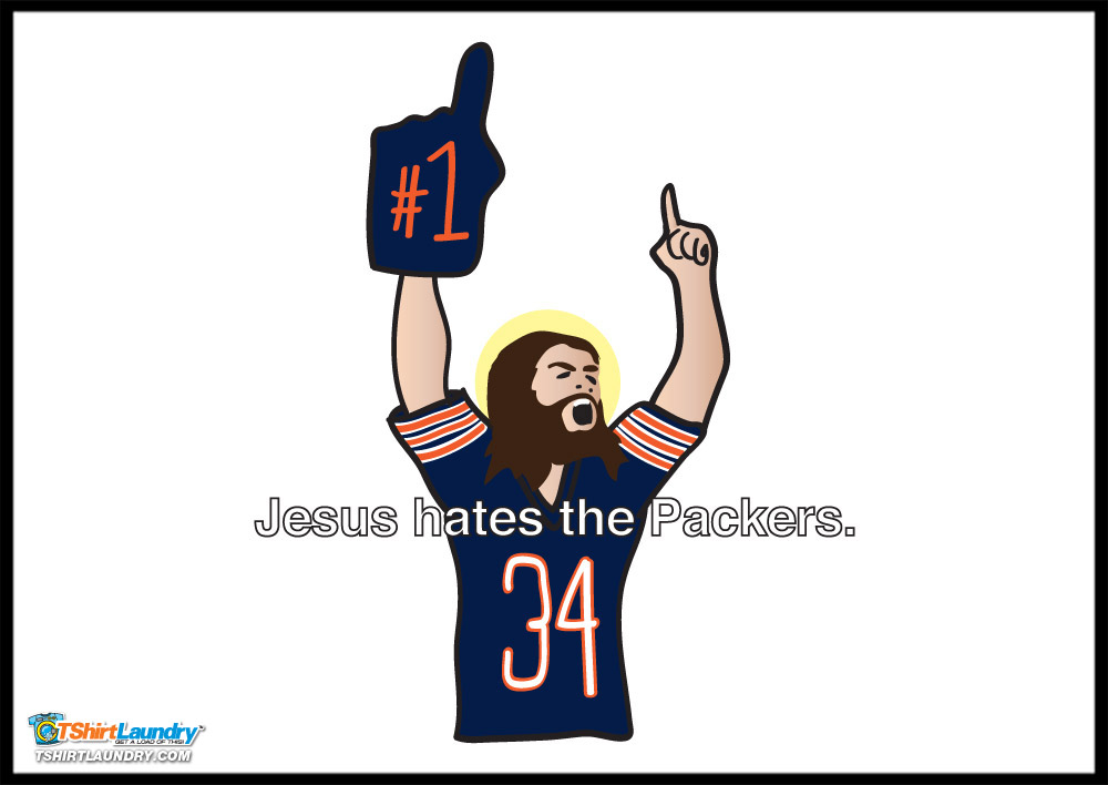 Jesus hates the packers