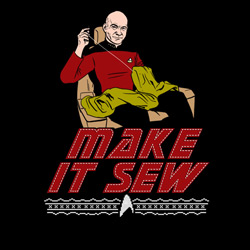 Captain Picard Says Make It Sew