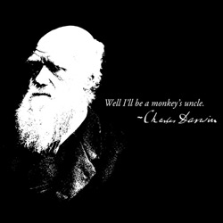 Charles Darwin - Well I'll Be A Monkey's Uncle