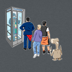 Doctor Who Phone Booth