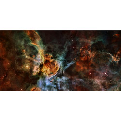Starfield Swirling Nebulae 6'x3' Playmat