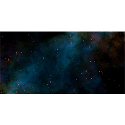 Starfield Deep Space 6'x3' Playmat