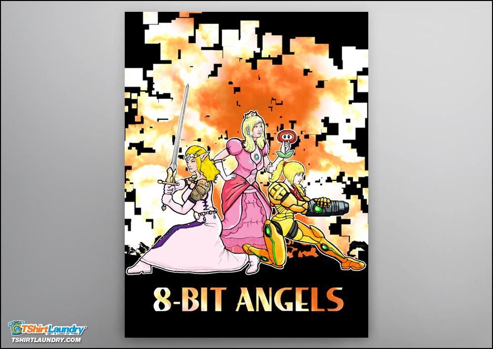 8-Bit Angels Poster