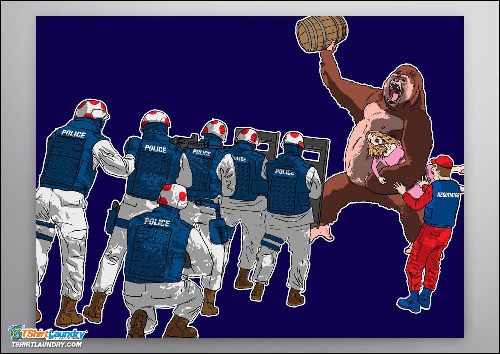 Donkey Kong Crisis Poster
