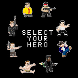 Select Your Action Movies Hero