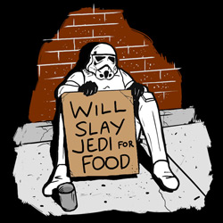 Homeless Stormtrooper