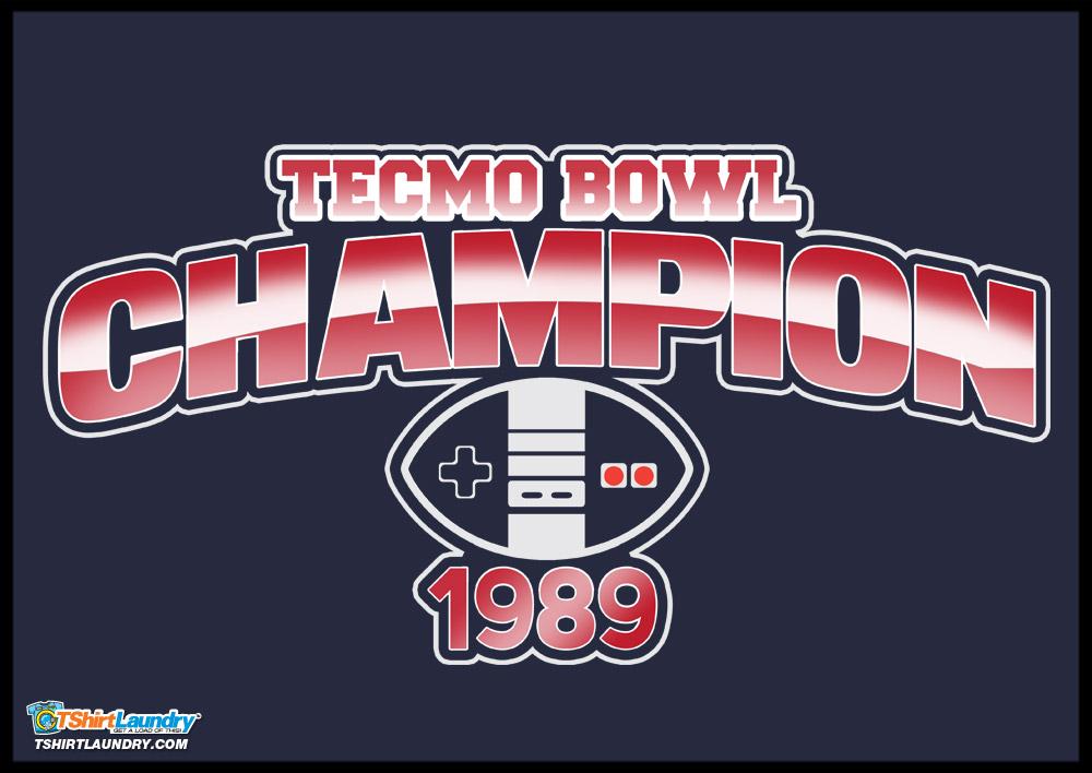 88ce79e0139b8 Tecmo Bowl Champion Tshirt