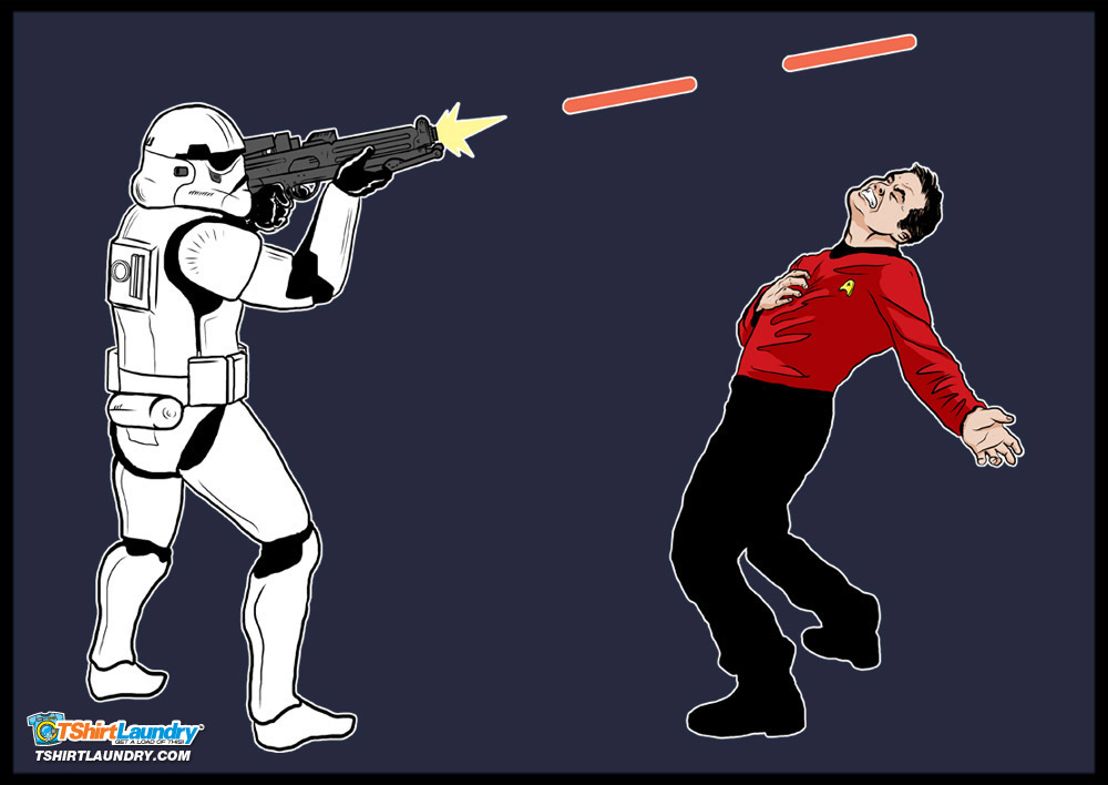100 stormtroopers vs  100 redshirts   whowouldwin