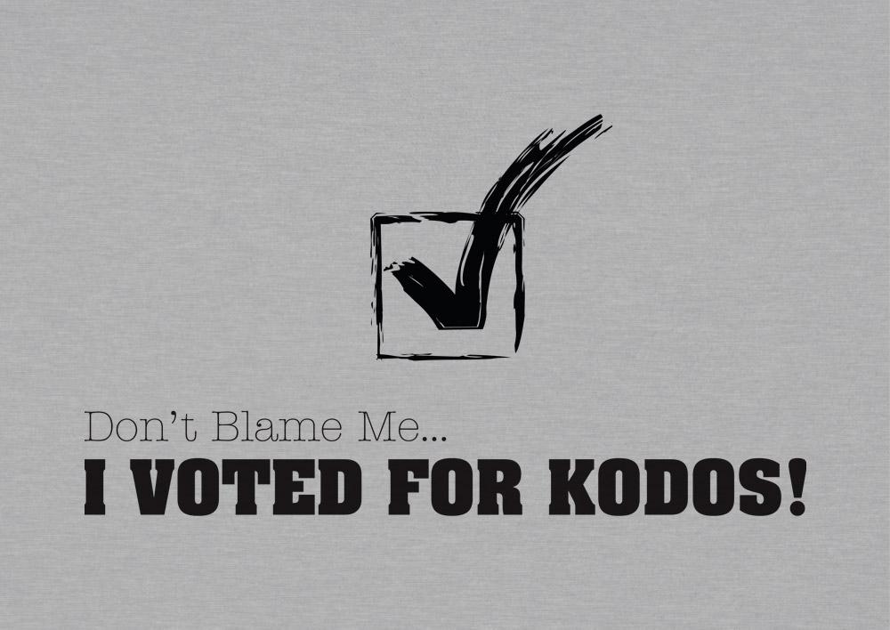 I voted for Kodos!