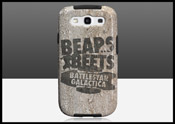 Bears. Beets. Battlestar Galactica Galaxy S3