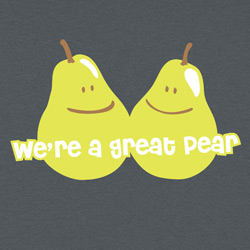 We're A Great Pear