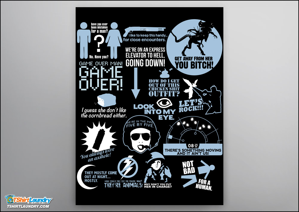 Aliens Quote Poster