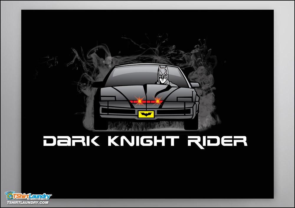 Dark Knight Rider Poster