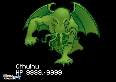 8-Bit Cthulhu T-Shirt