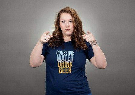 Conserve Water Drink Beer