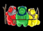 Ewok Gummy Bears