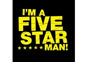 I'm a Five Star Man!