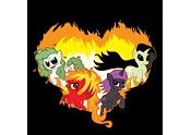 SALE!! Four Ponies of the Apocalypse