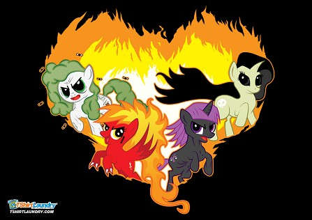 Four Ponies of the Apocalypse T-Shirt