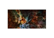 CLEARANCE Starfield Swirling Nebulae 6'x3' Playmat Poster