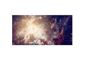 Starfield Nebulae Burst 6'x3' Playmat