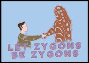 SALE!! Zygons Be Zygons