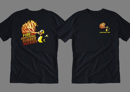 Team Fire Breathing Rubber Duckies - CUSTOM