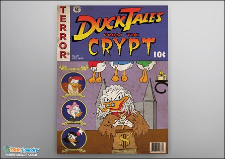 Duck Tales from the Crypt Poster