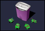 TMNT vs Shredder