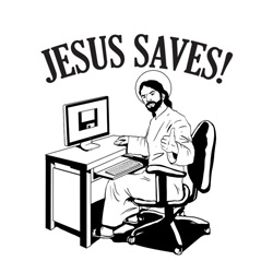 Jesus Saves (to the cloud)