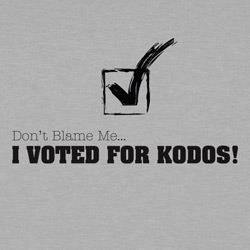 I voted for Kodos!