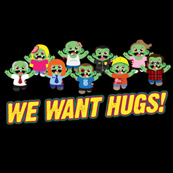 Cute Zombies Want Hugs!