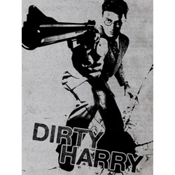 Dirty Harry Potter Poster