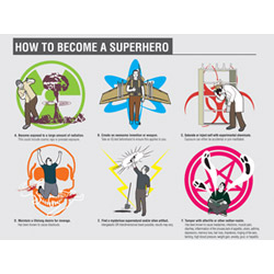 How to Gain Superpowers Poster