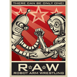 Robot Arm Wrestling League Poster