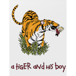 A Tiger and His Boy Poster