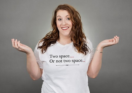 Two Space or Not Two Space