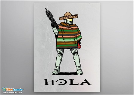 Hola Master Chief Poster